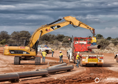 Epic Energy QSN3 gas pipeline - Paul Redding Photographer