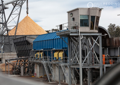Wood chip mill, Boyer Tasmania