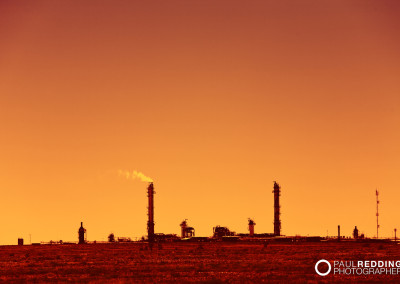 Santos Moomba Gas Field by gas pipeline photographer, Paul Redding Australia
